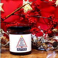 Chilli Christmas Personalised Chilli Jam