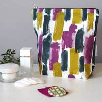 Lucia Tall Toiletry Bag, Large Wash Bag