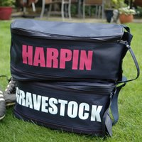 Personalised Boot Bag, Navy/White/Red