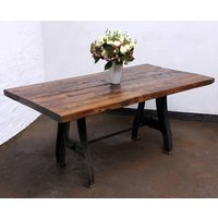 Jeremie 150 Year Old Reclaimed Roof Rafters Table