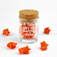 Little Jar Of Wishing Stars