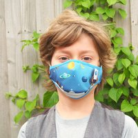 Space Sustainable Childrens Reusable Face Mask