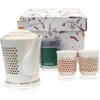 Ling Honeycomb Ceramic Tea Set
