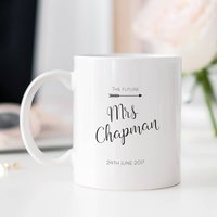 Personalised Future Mrs Bride To Be Mug