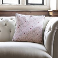 Parus Small Birds Luxury Wool Filled Cushion And Cover