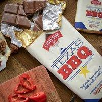 Texas Bbq Milk Chocolate Bar