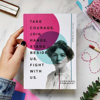Writing Journal 'Join Hands' Feminist Gift