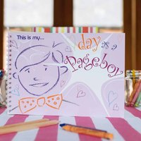 'My Day As A Pageboy' Activity Book