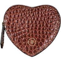 Luxury Crocodile Leather Coin Purse Mirabella Croco