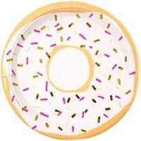 Doughnut Party Plates