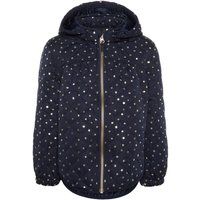 Quilted Silver Dot Thermo Jacket