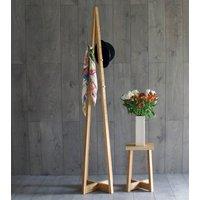 Avenir Coat Stand Solid Oak