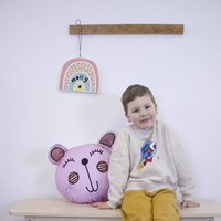Personalised Rainbow Kids Room Wall Hanging