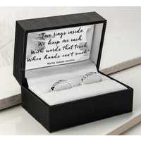 Sterling Silver Promise Rings, Silver