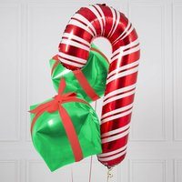 Christmas Candy Present Trio Inflated Foil Bunch