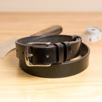 Vibe1 Classic Handstitched English Leather Belt
