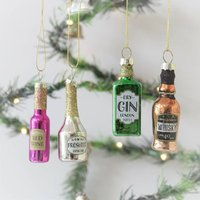 Christmas Cheer Set Of Four Decorations