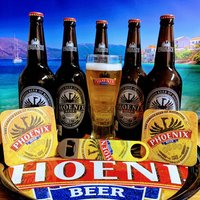 Phoenix Beer Sharing Pack With Bar Blade From Mauritius