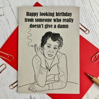 Fooking Birthday Card