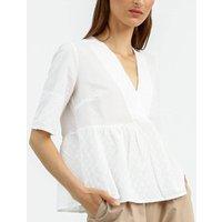 Latte Cotton Tunic Top