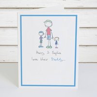 Personalised 'Daddy' Card
