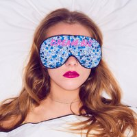 Blue Liberty 'Dream Big' Eye Mask