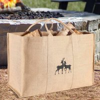 Giant Stag Log Carrier Bag