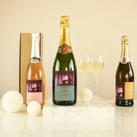 Personalised Photo Hen Party Prosecco