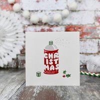 Scented Letterpress Roomspray Design Christmas Card