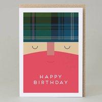 'Happy Birthday' Scotsman Card