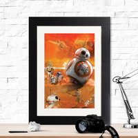 Star Wars Droid Collection Framed Print