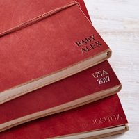 Personalised Distressed Handmade Leather Photo Album