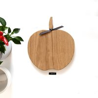 Wooden Apple Chopping / Serving Orchard Board