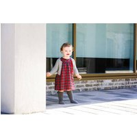 Baby Girl Red Tartan Dress
