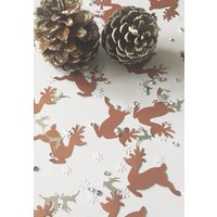 Black Copper Reindeer Christmas Table Confetti