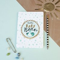'Hello Baby Bean' Newborn Card
