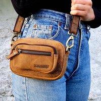 Leather Micro Handbag
