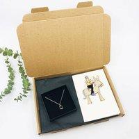 Pony Gift Set: Stirrup Necklace