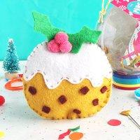 Christmas Pudding Decoration Sewing Craft Kit