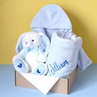 Personalised Gift Set For Baby Boy