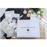 Dark Chocolate And Gold Dust Macaron Making Kit