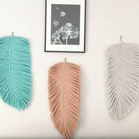 Macrame Feather Decoration