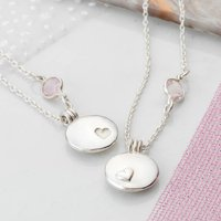 Sister And Best Friend Locket Necklace Set