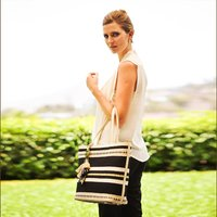 Rebeca Handmade Handbag, Cream