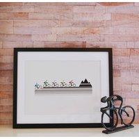 Mountain Bike Unframed Print