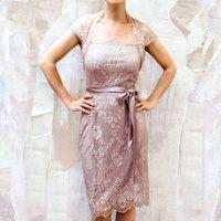 Summer Lace Tea Dress
