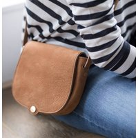 Womens Luxury Suede Mini Crossbody Bag Nola S