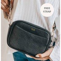 Personalised Leather Crossbody Bag