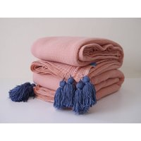 Four Layers Soft Cotton Muslin Blanket