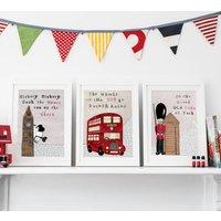 London Nursery Prints Set Of Three